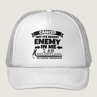 Melanoma Cancer Met Its Worst Enemy in Me Trucker Hat