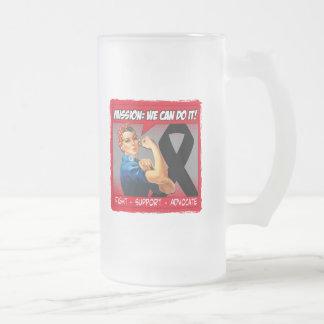 Melanoma Cancer Mission We Can Do It Mug