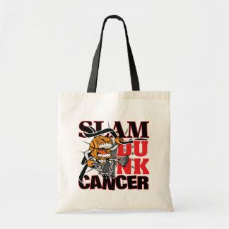 Melanoma Cancer - Slam Dunk Cancer Tote Bags