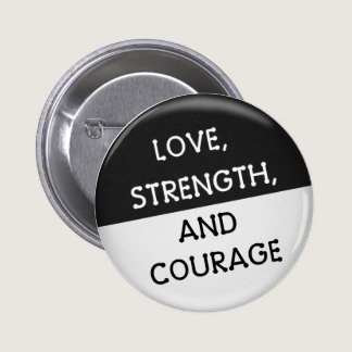 Melanoma Cancer Support Button