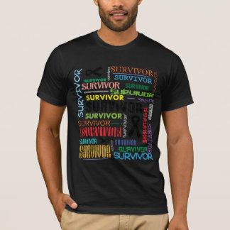 Melanoma Cancer Survivor Collage.png T-Shirt