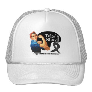 Melanoma Cancer Take a Stand Trucker Hat