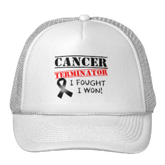 Melanoma Cancer Terminator Hat