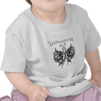 Melanoma Cancer Warrior Celtic Butterfly Shirts