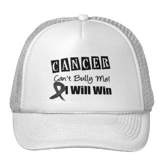 Melanoma Cant Bully Me I Will Win Trucker Hat