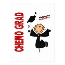 Melanoma CHEMO GRAD 1 Postcard