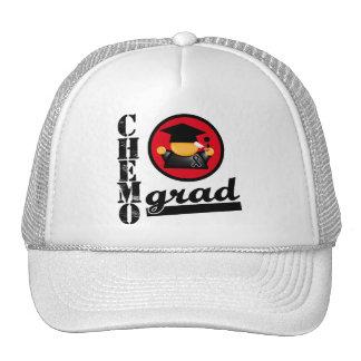 Melanoma Chemo Grad Trucker Hat