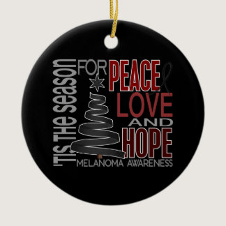 Melanoma Christmas 1 Ornaments