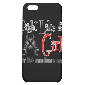 Melanoma Cool Retro Fight Like a Girl iPhone 5C Cases