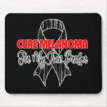 Melanoma de la curación para mi Brother gemelo Tapete De Ratón