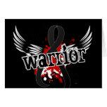 Melanoma del guerrero 16 tarjeton