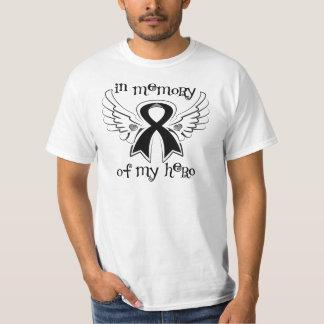 Melanoma en memoria de mi héroe playera
