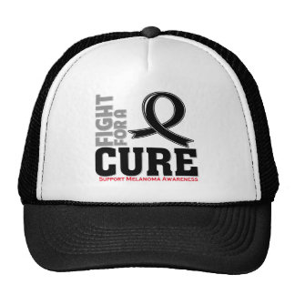 Melanoma Fight For A Cure Trucker Hat