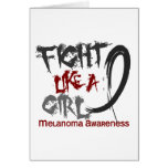 Melanoma Fight Like A Girl 5.3 Card