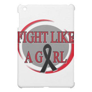 Melanoma Fight Like A Girl Circular iPad Mini Case