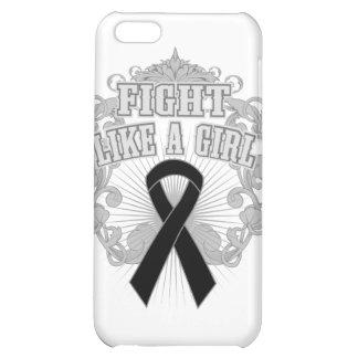 Melanoma Fight Like A Girl Fleurish iPhone 5C Covers