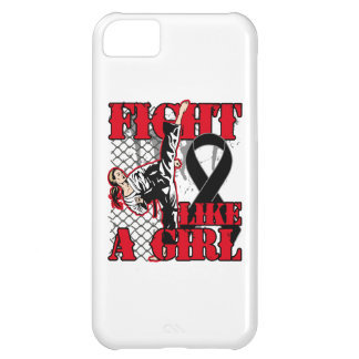 Melanoma Fight Like A Girl Kick. iPhone 5C Cases