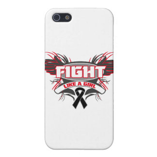 Melanoma Fight Like a Girl Wings.png iPhone 5 Covers