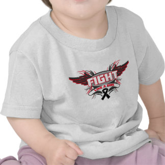 Melanoma Fight Like a Girl Wings.png Shirts