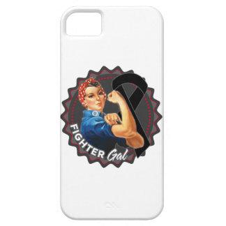 Melanoma Fighter Gal iPhone 5 Cases