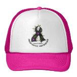 Melanoma FLOWER RIBBON 1 Trucker Hat