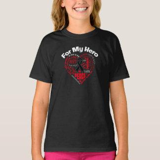 Melanoma For My Hero T-Shirt