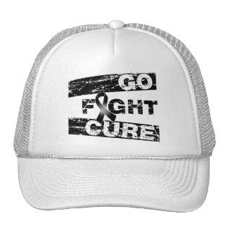 Melanoma Go Fight Cure Trucker Hat
