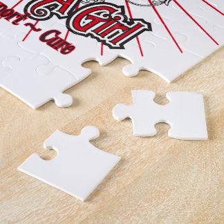 Melanoma Heart I Fight Like A Girl Jigsaw Puzzles