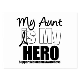 Melanoma Hero Aunt Postcard