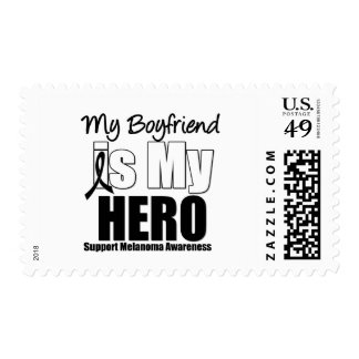 Melanoma Hero Boyfriend Postage Stamps