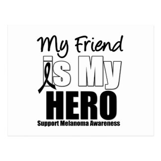 Melanoma Hero Friend Postcard