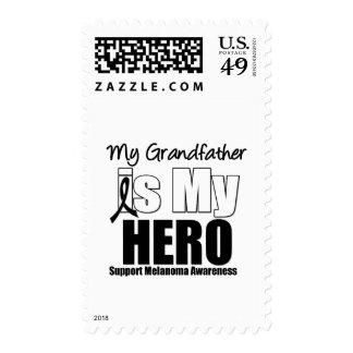 Melanoma Hero Grandfather Stamps