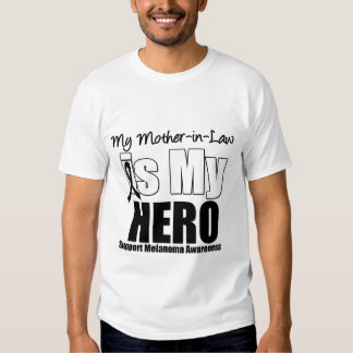 Melanoma Hero Mother-in-Law Shirt
