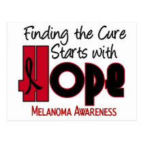 Melanoma HOPE 4 Postcard