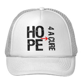 Melanoma Hope For a Cure Trucker Hat