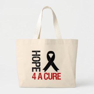Melanoma Hope For A Cure Jumbo Tote Bag