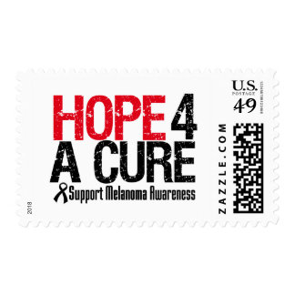 Melanoma Hope For A Cure Postage