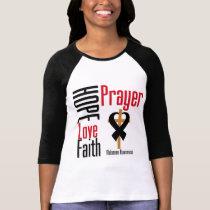 Melanoma Hope Love Faith Prayer Cross Shirt
