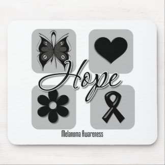 Melanoma Hope Love Inspire Awareness Mouse Mat