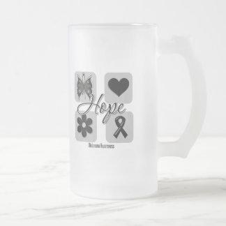 Melanoma Hope Love Inspire Awareness Coffee Mug