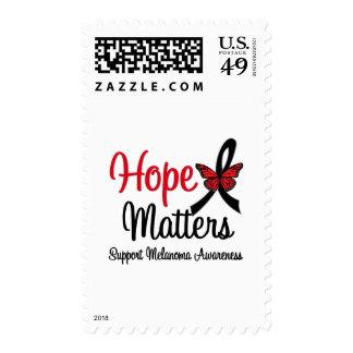 Melanoma Hope Matters Postage