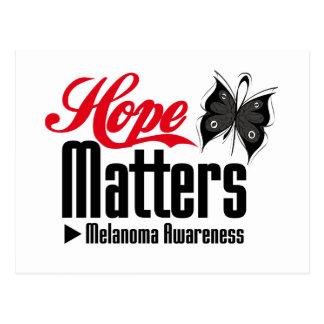 Melanoma HOPE MATTERS Postcard