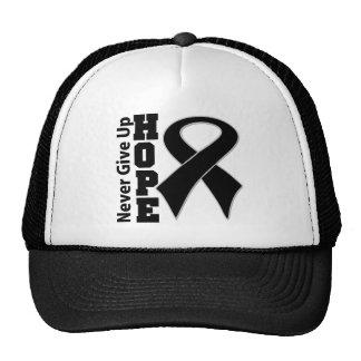 Melanoma Hope Never Give Up Trucker Hat