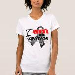 Melanoma - I am a Survivor T-shirts