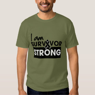 Melanoma I am Survivor Strong Tee Shirts