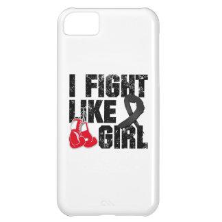 Melanoma I Fight Like A Girl (Grunge) Case For iPhone 5C