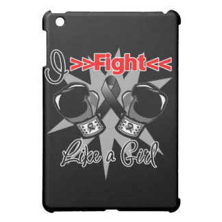 Melanoma I Fight Like a Girl With Gloves Case For The iPad Mini