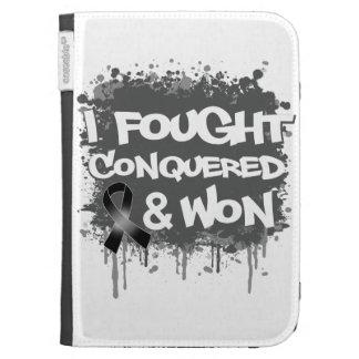 Melanoma  I Fought Conquered Won Kindle Cover