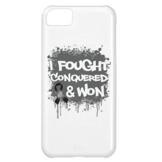 Melanoma I Fought Conquered Won iPhone 5C Cover