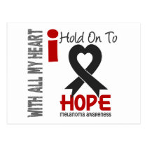 Melanoma I Hold On To Hope Postcard